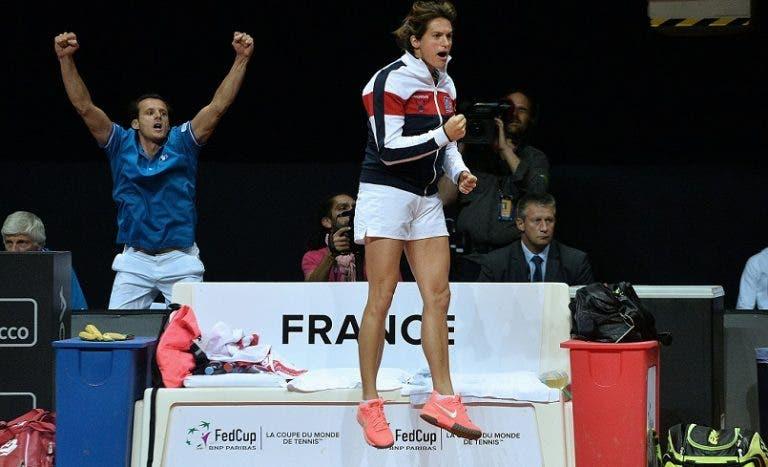 Mauresmo faz história e é a primeira mulher a dirigir a seleção francesa de ténis