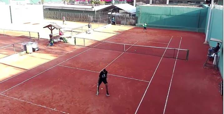 [Vídeo] Primeiro treino de Nick Kyrgios foi com Kiko Silva