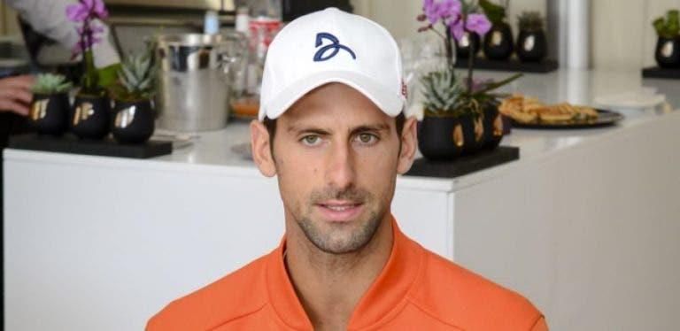 Novak Djokovic: «Preciso de férias e estou ansioso por descansar»