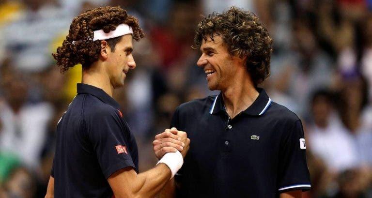 Guga revela as suas preferências: «Primeiro Djokovic, de seguida Nadal e depois Federer»