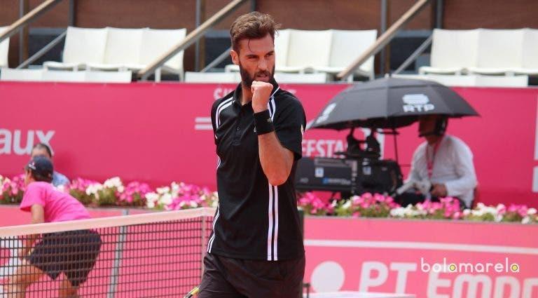 Benoit Paire é o primeiro semifinalista do Millennium Estoril Open