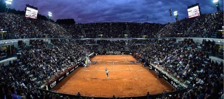 Masters 1000 de Roma (transmissão integral) e Lisboa Belém Open dão na TV