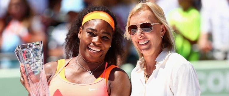 Navratilova avisa: «Subestimar a Serena é um erro»