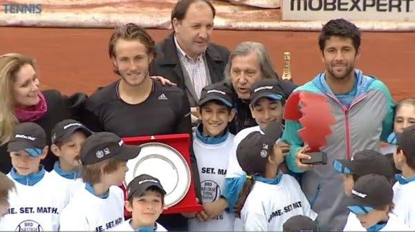 Verdasco é campeão em Bucareste antes de chegar a Portugal