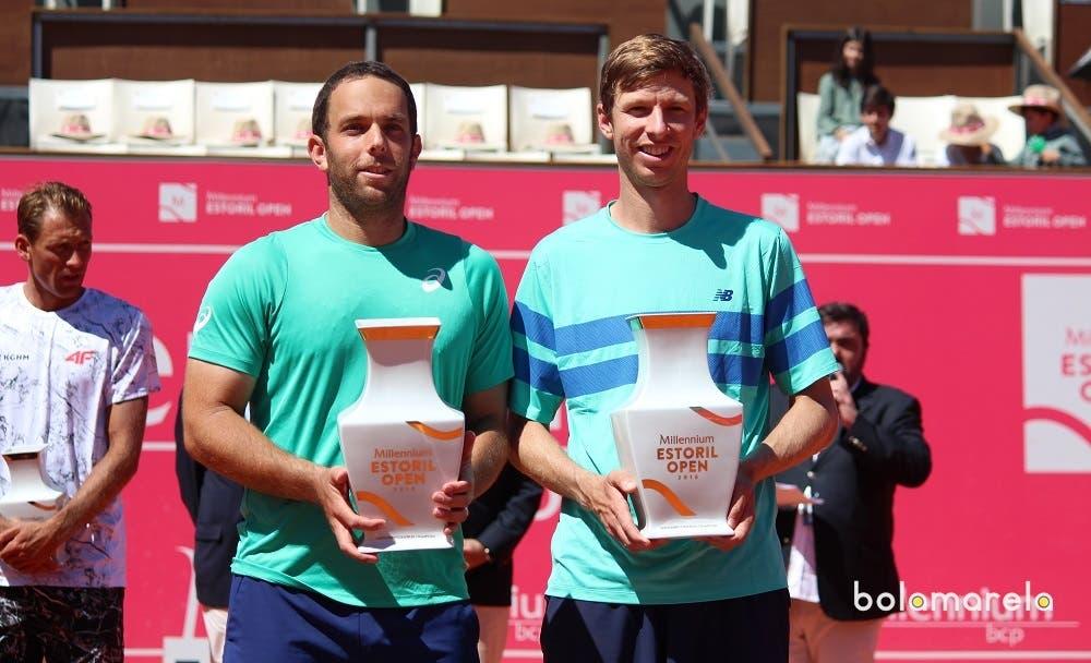 Eric Butorac e Scott Lipsky campeões de pares do Millennium Estoril Open