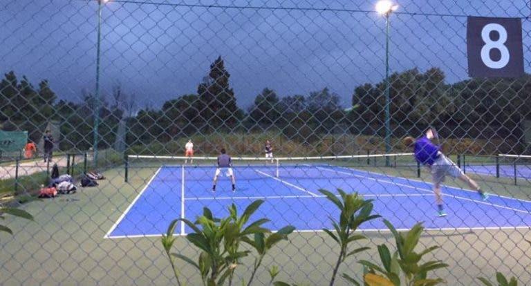 Chuva adia primeira jornada no Lisboa Racket Centre