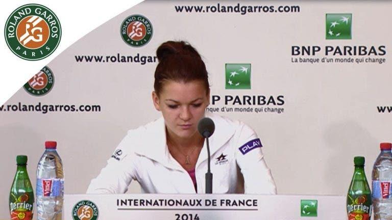 Radwanska ataca organização: «Isto não é um torneio de 10 mil, é um Grand Slam»