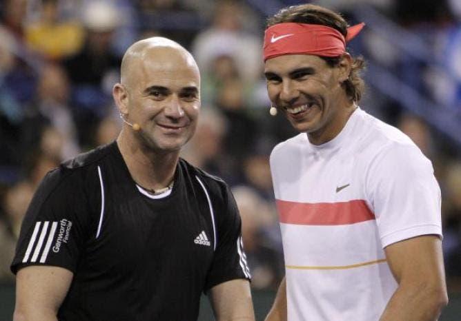 Agassi: «Se tivesse de defrontar Nadal em Roland Garros? Chamava a AirFrance»