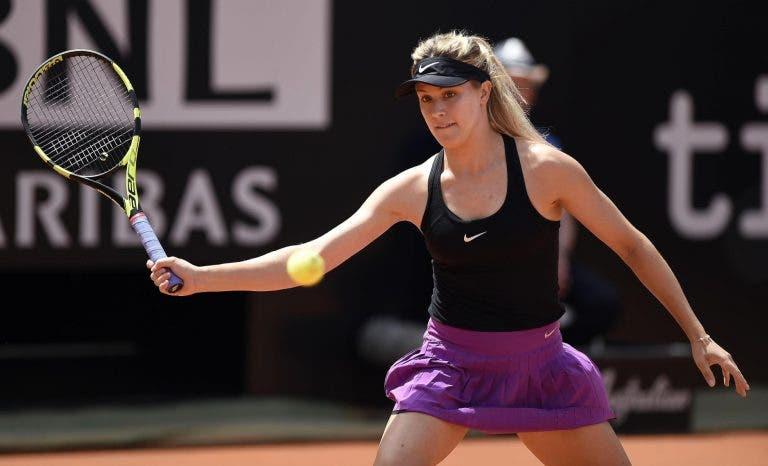 Bouchard desiste na primeira ronda do qualifying de Roland Garros