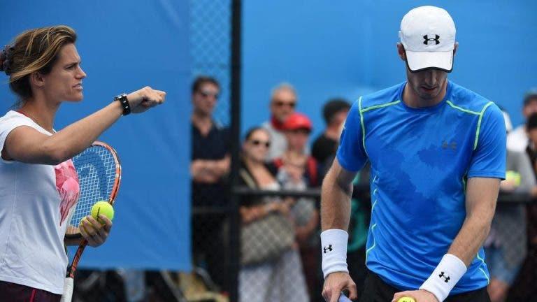Mauresmo elogia Murray: «Nunca me vou esquecer do tempo em que o treinei»