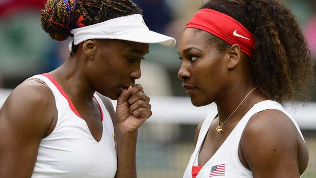 Irmãs Williams no top 11 de melhores atletas vegan