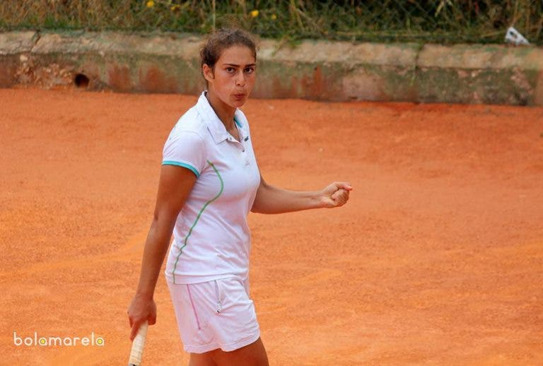 Ana Filipa Santos vence e está na segunda ronda do Porto Open