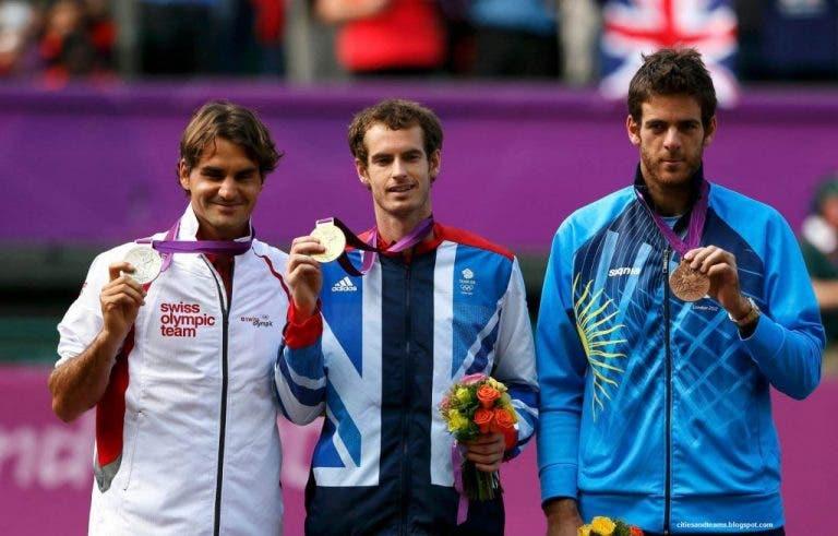 OFICIAL: lista dos Jogos Olímpicos com Del Potro e sem Kyrgios e Sharapova