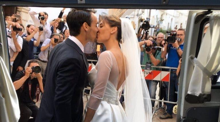 Fabio Fognini e Flavia Pennetta são oficialmente marido e mulher