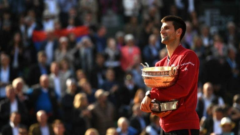 Mundo do ténis reage ao incrível feito de Novak Djokovic