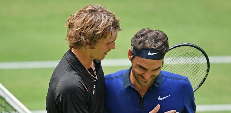 Zverev: «Idolatrei o Federer a minha vida toda»