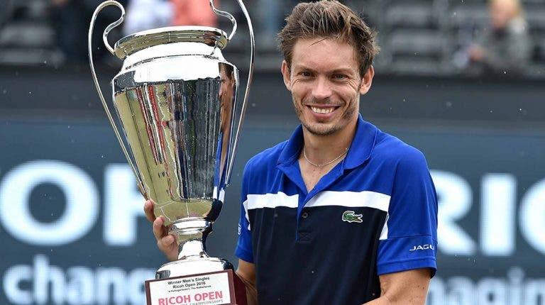 Nicolas Mahut vence o seu 3º título em 's-Hertogenbosch