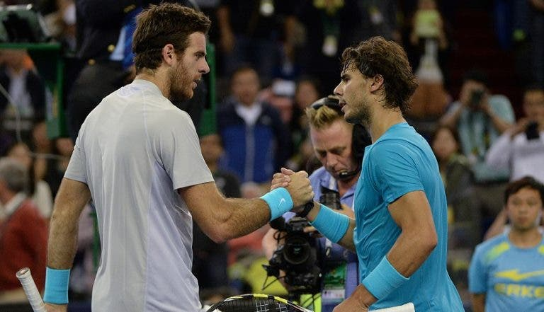 'Hawk Eye'. US Open. Rafa Nadal vs Juan Martin del Potro