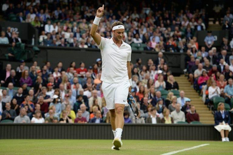 Marcus Willis, o professor que virou herói em Wimbledon, retirou-se do ténis