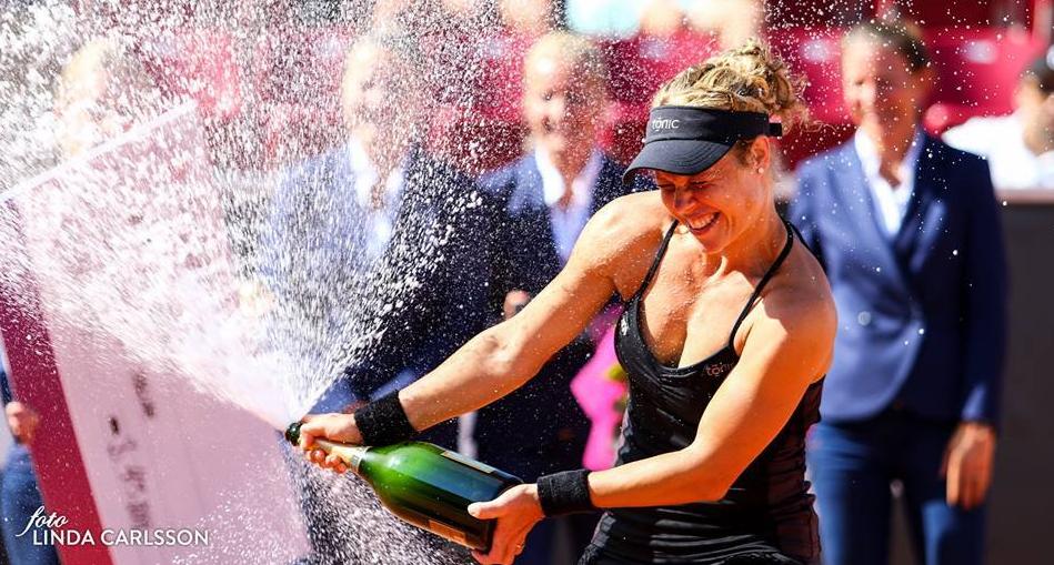 Aos 28 anos, Laura Siegemund venceu primeiro título WTA
