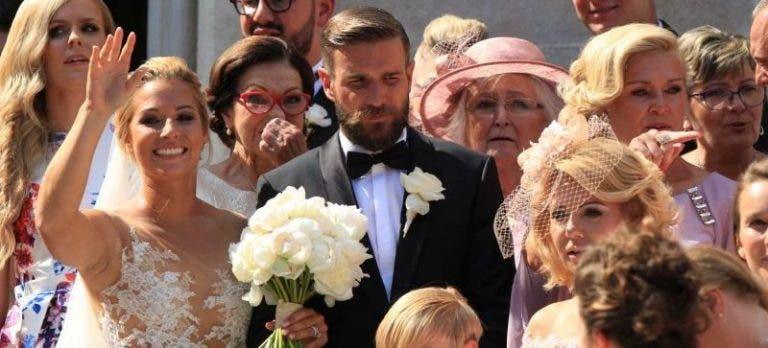 [Fotogaleria] Dominika Cibulkova já é uma mulher casada