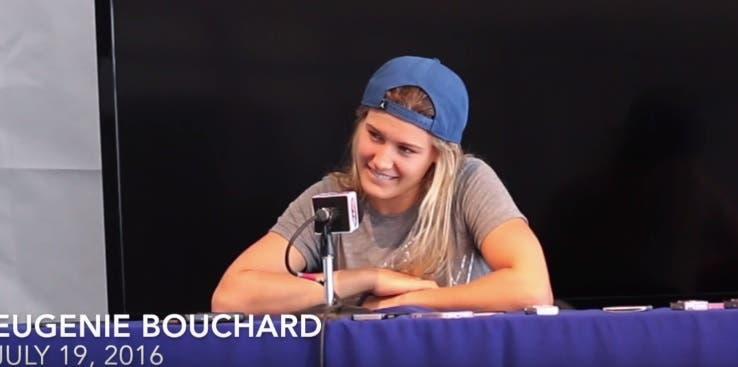 Bouchard não fugiu a nenhuma pergunta: da gravidez de Azarenka à polémica Switf/Kardashian