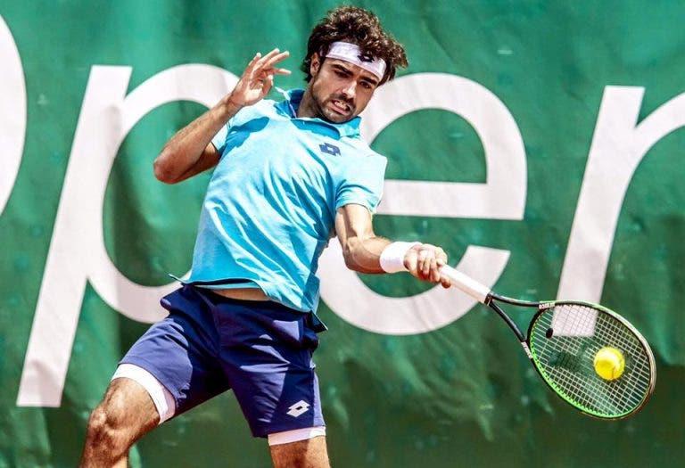 [VÍDEO] Braga Open. Frederico Silva vs. Christian Harrison, em DIRETO