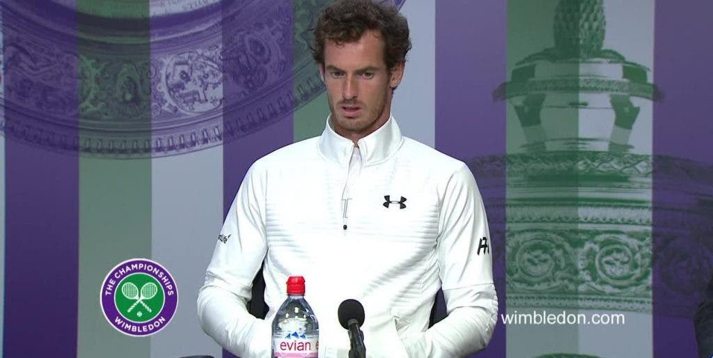 Murray: «Sinto que este título é mais para mim»