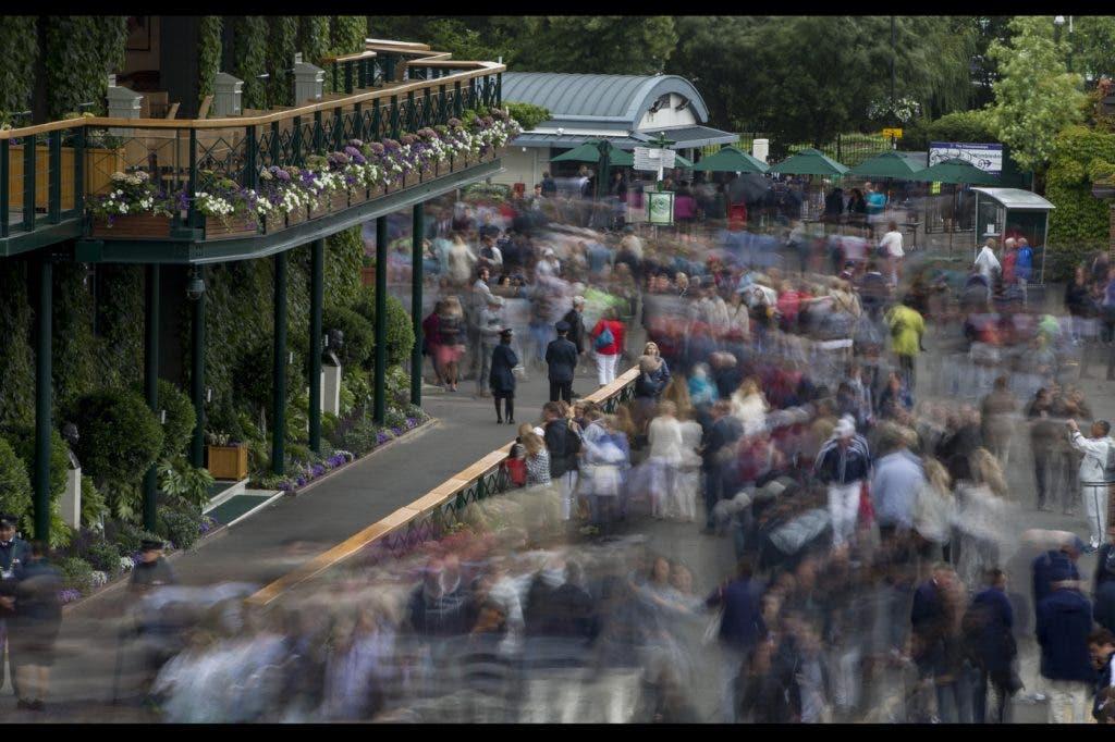 Nove pessoas foram detidas durante o torneio de Wimbledon