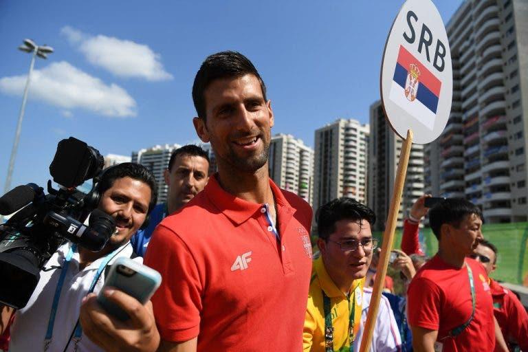 Medalha de bronze no Rio 2016 confessa: «Djokovic é a pessoa mais simpática de sempre»