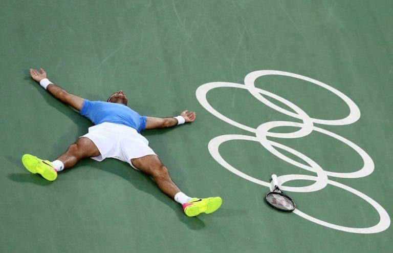 Juan Martin del Potro foi dos atletas olímpicos que mais carinho recebeu nas redes sociais