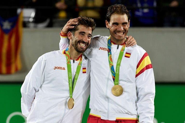 Millennium Estoril Open. Conhecida a lista de pares, com Sousa e um campeão olimpico
