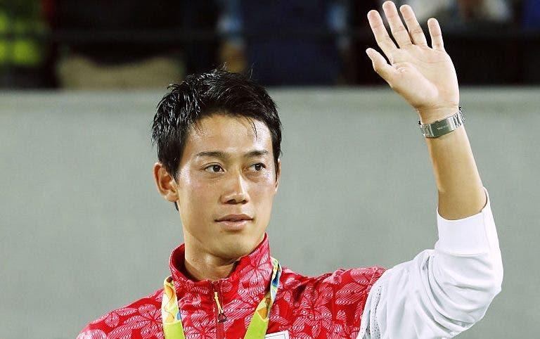 Bronze olímpico vale a Nishikori mais de metade de todo o prize-money da carreira