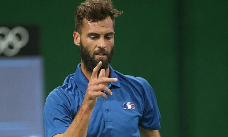 Benoit Paire assegura: «Durante a final da Taça Davis… vou estar de férias!»
