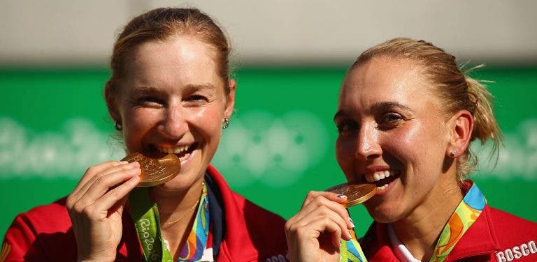 Makarova e Vesnina. De quase excluídas a ouro olímpico em duas semanas