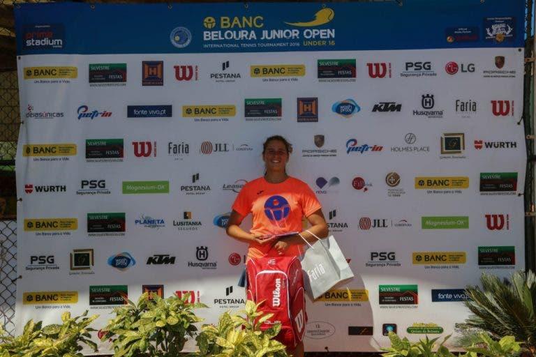 Históricos Lúcia Quitério e Martim Prata sagram-se campeões do BANC Beloura Junior Open