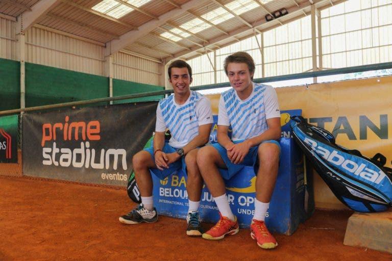 Domínio português nas finais de pares do BANC Beloura Junior Open