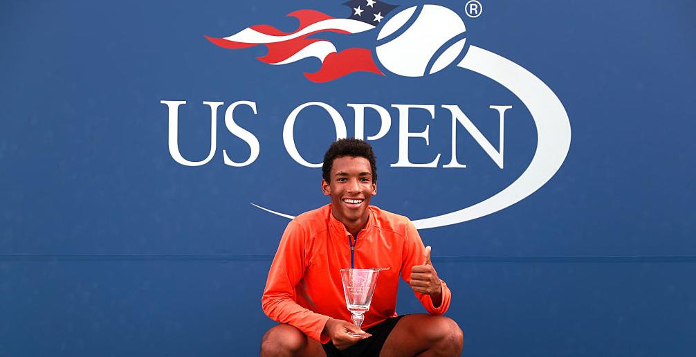 Auger Aliassime vence o US Open e deverá terminar carreira de juniores… aos 16 anos