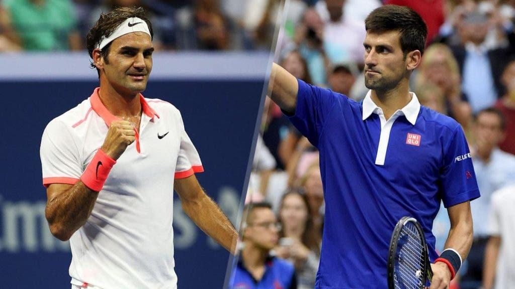 US Open. O que une Djokovic na final de 2016 a Federer na final de 2015?