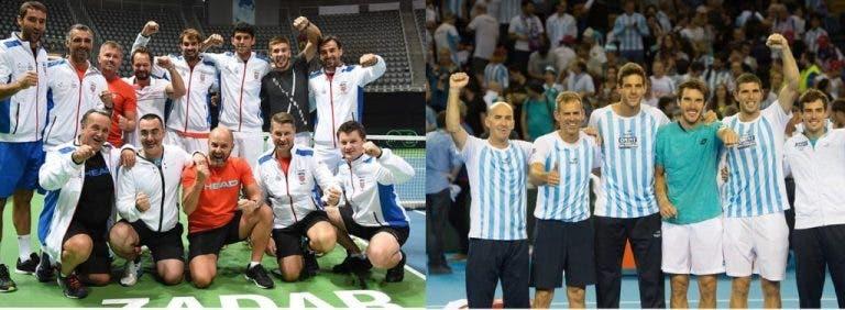 Croácia ou Argentina: uma delas ficará com a 'saladeira'