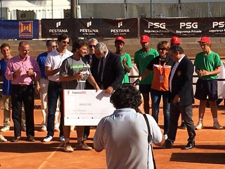João Monteiro é o novo campeão nacional absoluto