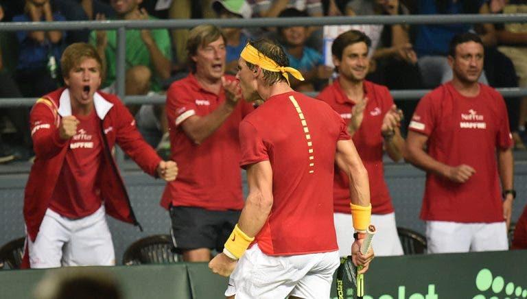 Nadal vai regressar aos courts… no Campeonato Nacional, na mesma semana em que treina com Sousa