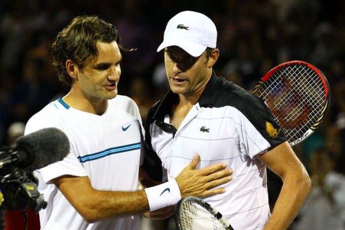 Roddick revela aquilo que sempre invejou mais em Federer