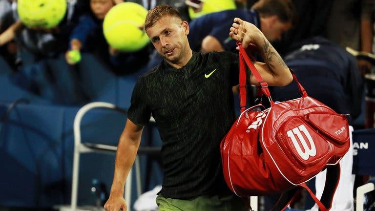 Antes de vir ao Estoril Open, Dan Evans treinou… na casa de Federer