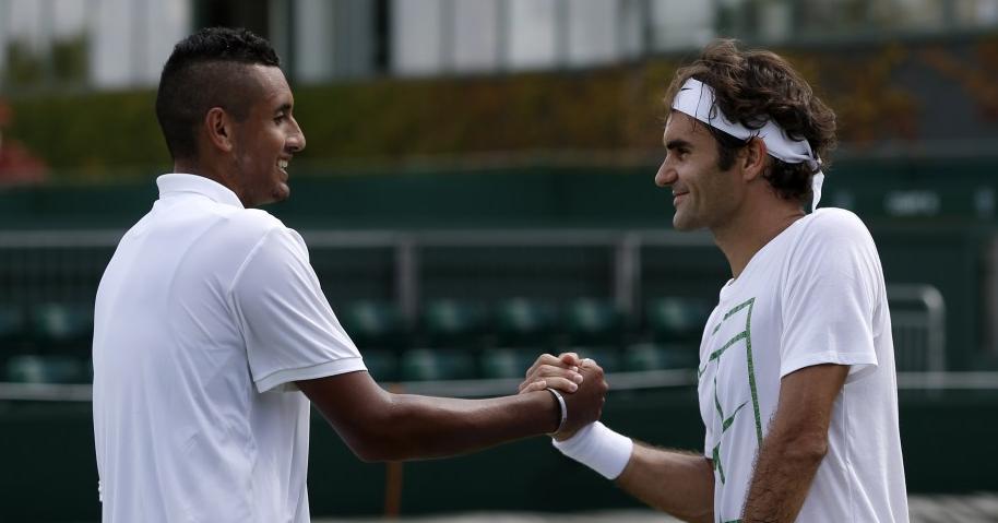 Federer arrasador em relação às recentes atitudes de Kyrgios