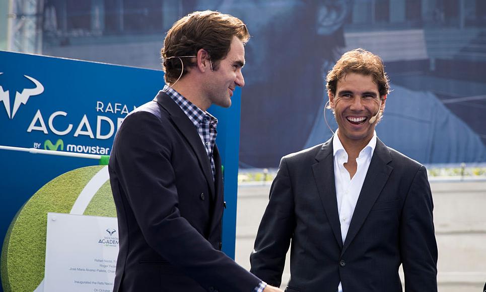 Federer: «Não me importava de dar aulas a miúdos na Academia de Nadal»