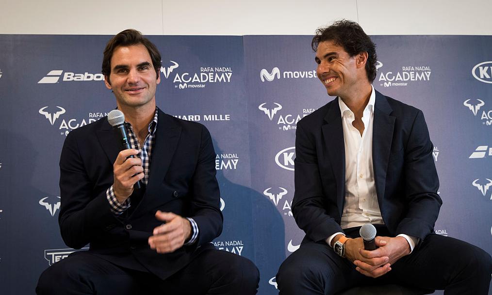 Nadal lembra promessa de Federer: «Ele disse que colocaria os filhos na minha Academia»