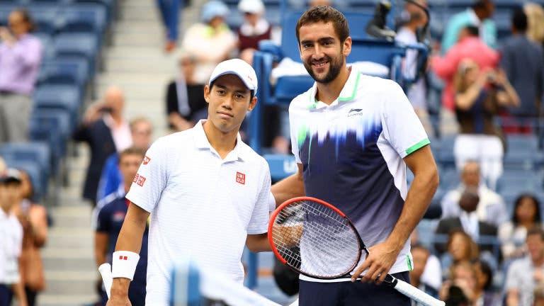 Nishikori salva 'match points' em Basileia e reedita final do US Open 2014 com Cilic