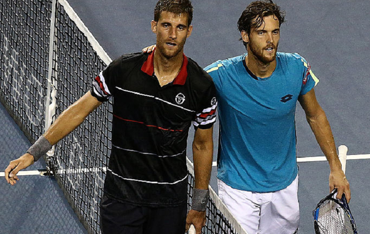 Sousa e Klizan não resistem à melhor dupla do ano em Paris