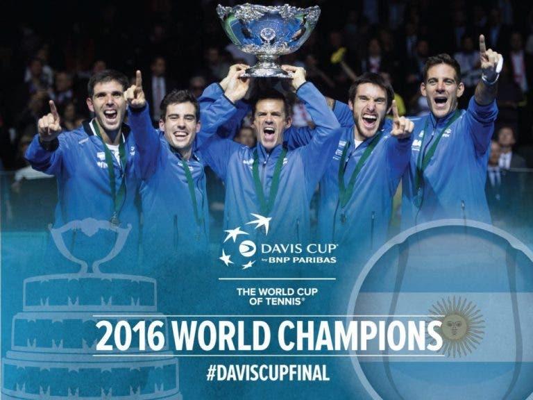 Felicitações à Argentina e a Del Potro chovem no Twitter